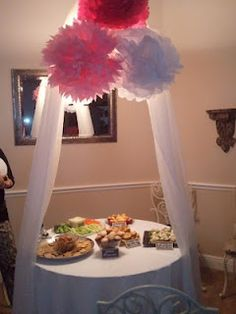 Tiffany's Gorgeous Bridal Shower Table