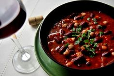 Tai Chi, Chili, Beans, Soup, Vegetables, Winter, Winter Time, Chile, Vegetable Recipes