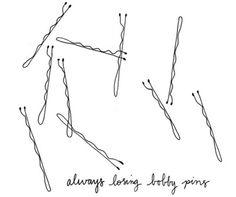 Always losing bobby pins...