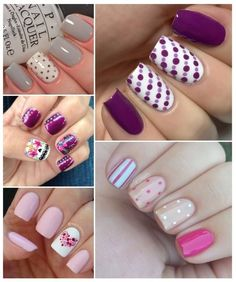 Trendy fails art paso a paso ongles Ideas Gelish Nails, Nail Manicure, Pink Nail Art, Pink Nails, Nail Art For Kids, Girls Nails, Minimalist Nails, Creative Nails, Simple Nails