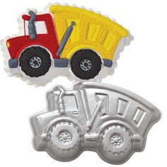 Boys+love+big+trucks,+dirt+and+anything+with+wheels! +Therefore,+a+construction+party+would+be+the+perfect+theme+for+their+next+birthday+celebration. This+page+features+a+large+assortment+of+Construction+Cake+and+Cupcake+supplies+for+your+birthda Wilton Cake Decorating, Cake Decorating Tools, Decorating Supplies, Craft Supplies, Kid Cupcakes, Cupcake Cakes, Cupcake Supplies, Baking Supplies, Baking Tools