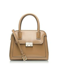Tory Burch ELISE SMALL DOME SATCHEL