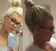 Big Bun, Girls With Glasses, Buns, Beauty, Fashion, Eyeglasses, Moda, Fashion Styles, Beauty Illustration