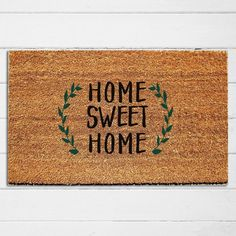 Home Sweet Home Doormat | Welcome Mat | Custom Doormat | Outdoor Doormat | Cute Doormat | Wedding Gi