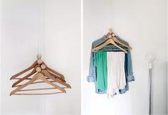 Fantastiche immagini su appendiabiti closet hangers coat