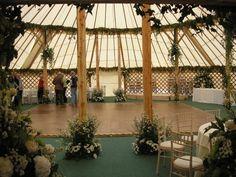 a backyard yurt would be so nice ( Castle Yurts Ltd )