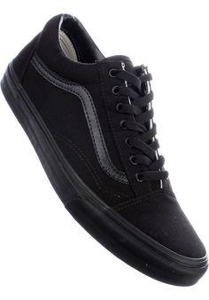 Vans Old-Skool, Shoe-Men, black-black #ShoeMen #MenClothing #titus #titusskateshop
