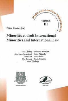 Minorités et droit international, 2008