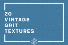 20 Vintage Grit Textures by BART.Co Design on @creativemarket
