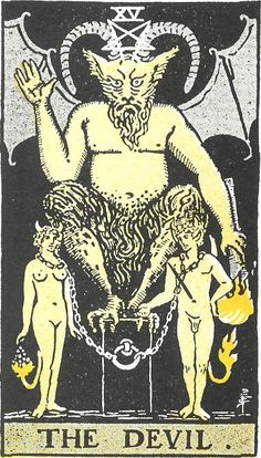 Ancient Devil Illustration | Would you sign a pact with the devil? « Richard Wiseman