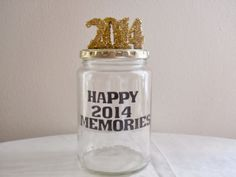 Make your own 2014 memory jar in six easy steps!
