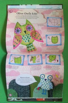 Donna Wilsons 'Creative Creatures' is out now- lets go make a kite!