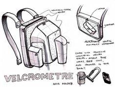 One Hour Design Challenge: Reinvent the Backpack : TreeHugger