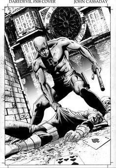 Daredevil by John Cassaday