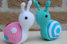 Sofie Snail Free Amigurumi Crochet Pattern