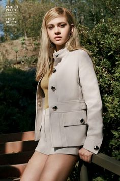"""""""Some Like it Cool"""" Nicola Peltz for InStyle US May 2015"""