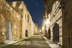 Photograph Ippoton Street by Vasilis Tsikkinis on 500px - The main street in the medieval town on the Greek island of Rhodes.