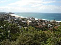 View over Collaroy Beach from Collaroy Plateau