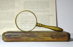 Vintage Magnifying Glass Brass Magnifying Glass Hand Magnifying Glass Vintage Opticals Sherlock Holmes Fancy Dress by FillyGumbo on Etsy