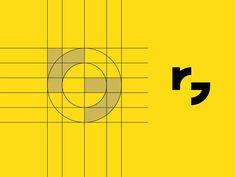 Best Logo Design Rg Monogram Grid images on Designspiration Logo Desing, Best Logo Design, Branding Design, Corporate Design, Logo Branding, Brand Identity, Flyer Design Inspiration, Typography Inspiration, Bussiness Card
