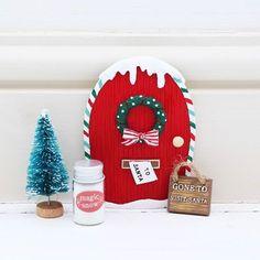 Kit puerta Navidad Elfo:
