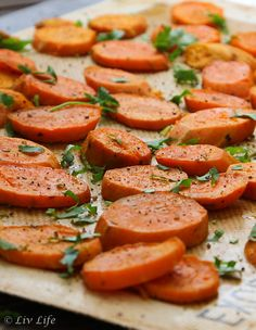 Roasted or Grilled Sweet Potatoes with Cilantro and Lime | Liv Life #bloggerclue