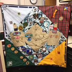 Russells Eagle Scout Quilt