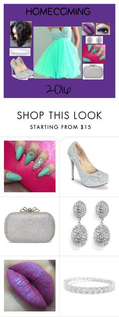 """Homecoming 2016"" by moon-child-lee ❤ liked on Polyvore featuring Lauren Lorraine, Kenneth Jay Lane, Homecoming, contestentry, senior and 2016"