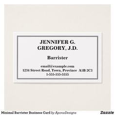 Shop Plain & Basic General Surgeon Business Card created by AponxDesigns. Business Card Design, Business Cards, Card Designs, Letter Board, Minimalism, Things To Come, Prints, How To Make, Lipsense Business Cards