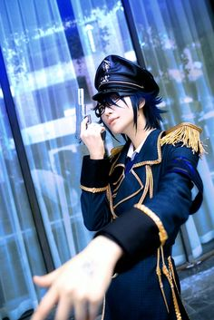 Fushimi Saruhiko (軍服ver.) (ryuichi randoll - WorldCosplay) | K-Project #cosplay #anime