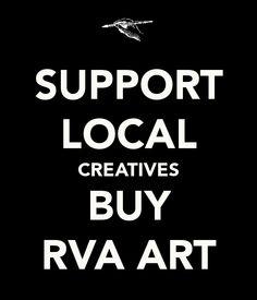 Buy #RVA Art
