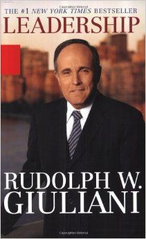 Leadership by Rudolph Giuliani #Success #Business