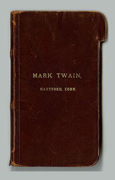 Famous Notebooks: Mark Twain