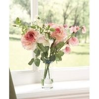 Silk Flower Vase