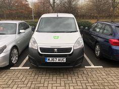 The Peugeot Partner 850 1.6 Bluehdi 100 Professional Van we supplied! #leasing  #newvan