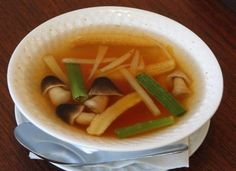 Tom Som ginger soup at Thai Orchids. (By Michael Hayman, The Courier-Journal) June 29, 2011