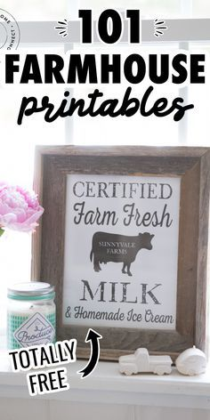 Rustic Farmhouse Decor, Farmhouse Signs, Farmhouse Chic, Rustic Room, Printable Pictures, Free Stencils, Free Prints, Printable Wall Art, Fixer Upper