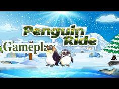 Penguin Ride iOS Gameplay - YouTube