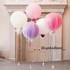 チュールで風船を包んだ『チュールバルーン』の活用アイデア | marry[マリー]