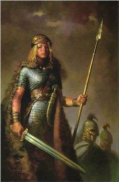 Frigga (Também conhecida como Frigg, A Amada) era a deusa do amor, casamento e destino. Ela era a esposa do poderoso deus nórdico Odin, o Pai de Todos.