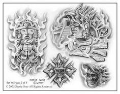 Mexican Aztec Art | 8644-aztec-tattoo-flash-art-drawings_large.jpg