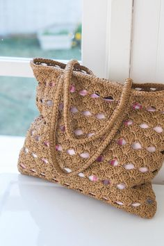 crochet Plarn Bag - inspiration only