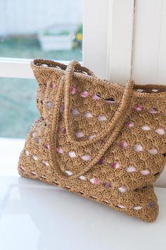 crochet Plarn Bag - inspiration only
