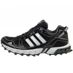 Adidas Thrasher 1.1 Mens C75974 Black Silver Trail Running Hiking Shoes Size 10