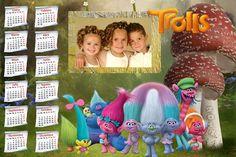 Calendarios para Photoshop: Próximamente calendario del 2017 de los Trolls par...