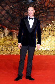 Fabulously Spotted: Benedict Cumberbatch Wearing Dolce & Gabbana - 'The Hobbit: The Desolation Of Smaug' Berlin Premiere - http://www.becauseiamfabulous.com/2013/12/benedict-cumberbatch-wearing-dolce-gabbana-the-hobbit-the-desolation-of-smaug-german-premiere/