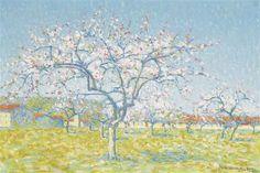 Achille Laugé, Verger en fleurs