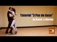 Kaem & Marine Kiz'academy - Tutoriel Kizomba Débutant - Les 3 pas de base - YouTube