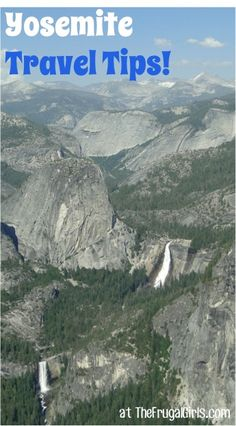 Yosemite National Park Things to Do, Best Hikes, Favorite Spots for Kids + more!  What to know before you go! | TheFrugalGirls.com
