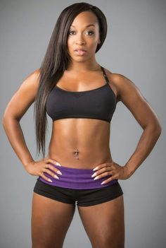 Keaira LaShae.. #TEAMLASHAE i have worked out to this topic lady's vudeis for about six months now. Let me tell you getting fit is not easy but with her. Its a Hec of a good time!!! Join her on IfYouCanMove.com and her Superfitnesshero website! You won't regret it!!!
